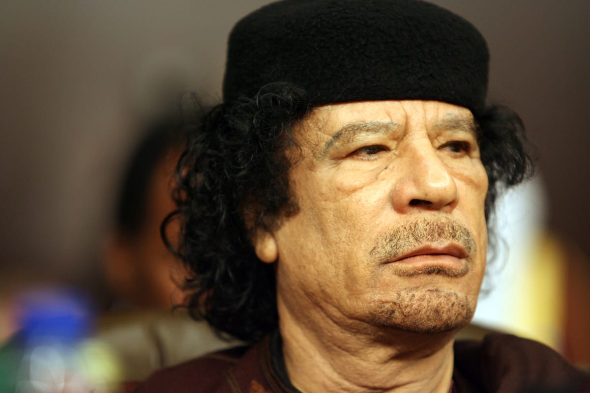 Footage Shows How Colonel Gaddafi Was Hunted And Brutally Killed 2703UNILAD imageoptim GettyImages 80424102