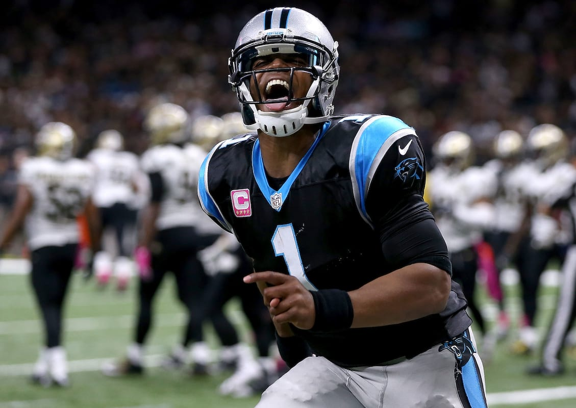 Cam Newton Slides Into Random Womans DMs In Very Bizarre Fashion 31096UNILAD imageoptim GettyImages 615049796