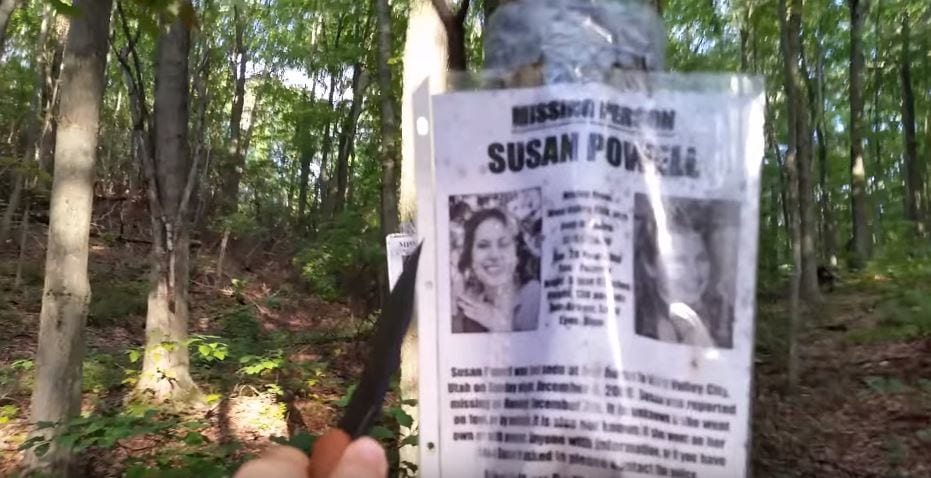 Hiker Discovers Blair Witch Style Camp And Missing Persons Posters In Forest 34468UNILAD imageoptim vid 2