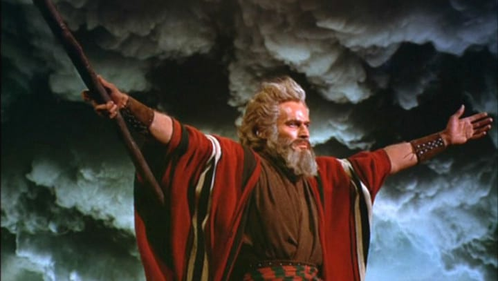 Scientists Find 'Proof' That Moses Actually Parted The Red Sea