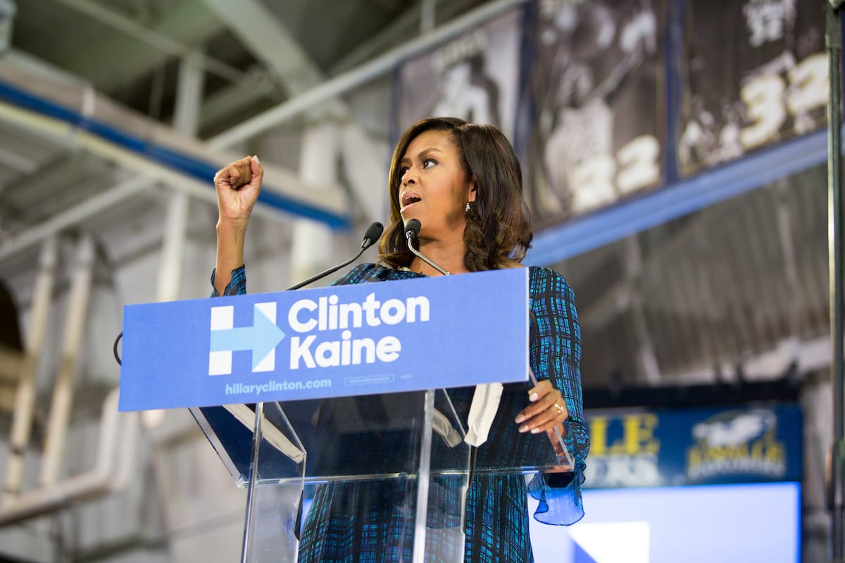 Michelle Obama Attacks Trump In Strongest Speech Of The Election 44710UNILAD imageoptim GettyImages 610921882