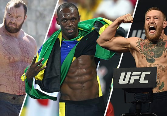 Heres How Conor McGregor, Usain Bolt And The Mountains Diets Compare 45334UNILAD imageoptim diets1