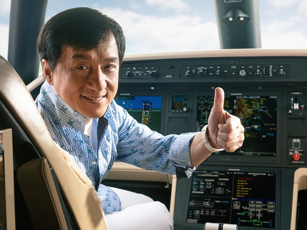 Jackie Chan Has An Absolutely Amazing New Private Jet 4792UNILAD imageoptim jackie chan approves