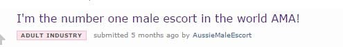 Worlds Number One Male Escort Reveals The Oddest Thing Hes Been Paid To Do 47946UNILAD imageoptim ama