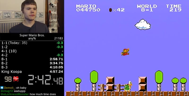 Super Mario Bros Speedrunner Sets Impossible New World Record 61751UNILAD imageoptim FacebookThumbnailmarios