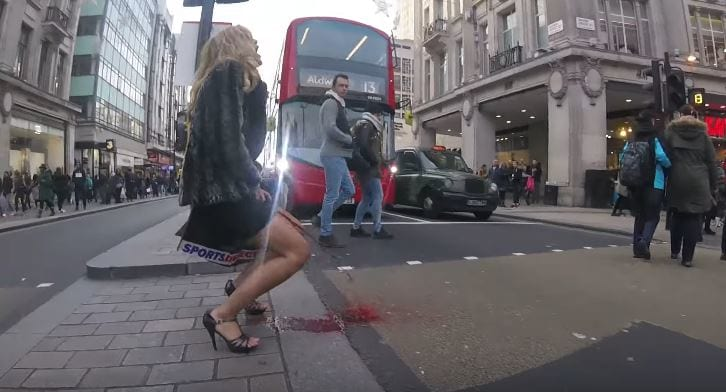 Woman Has A Period Explosion In The Middle Of London 62129UNILAD imageoptim Period explosion 3