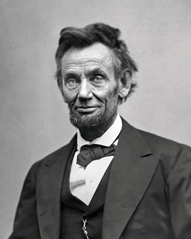 Here Are The Surprising First Jobs Of American Presidents 6710UNILAD imageoptim Abraham Lincoln O 116 by Gardner 1865 crop