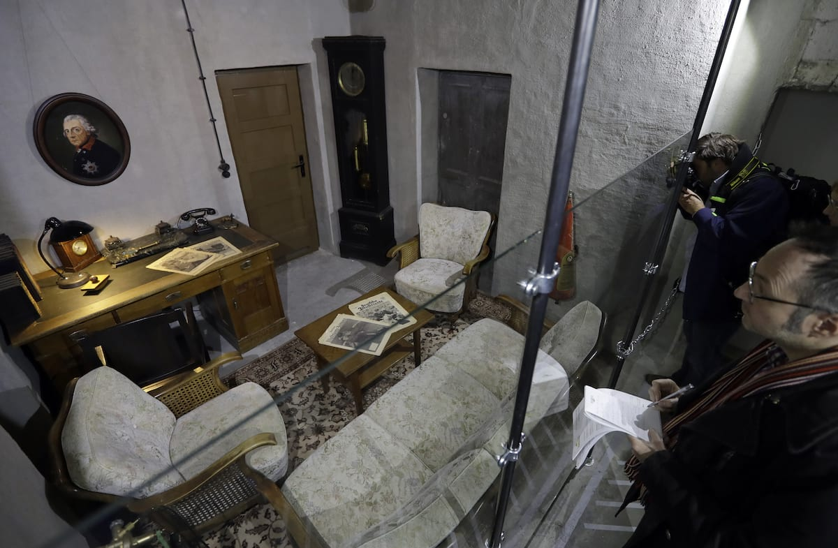 Take A Look Inside Bunker Where Adolf Hitler Committed Suicide 7551UNILAD imageoptim PA 29024280