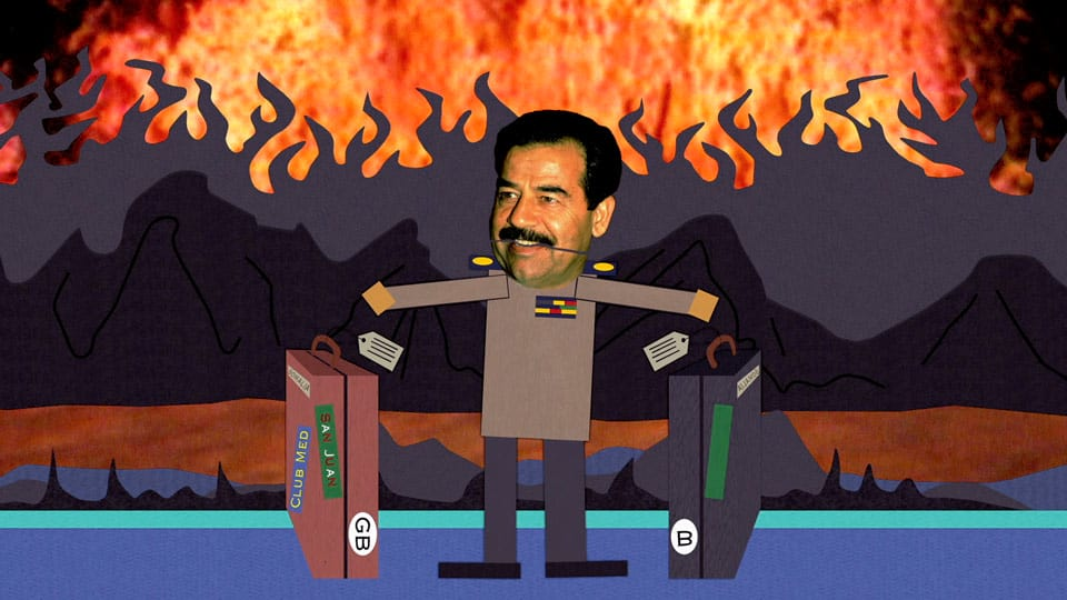 Saddam Hussein Is Still Alive According To New Conspiracy Theory wsi imageoptim south park s04e10c02 saddams back in hell 16x9