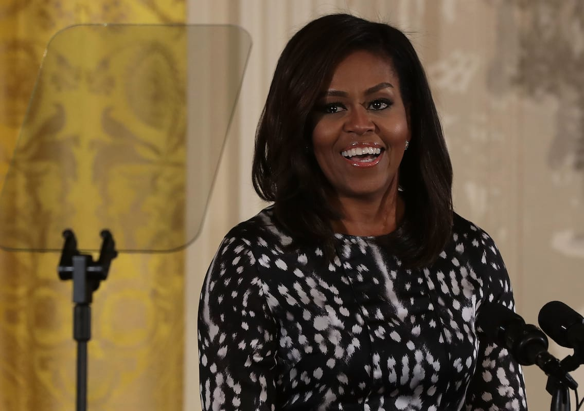 Michelle Obama Is The World's Most Admired Woman, Overtaking Angelina Jolie For Top Spot