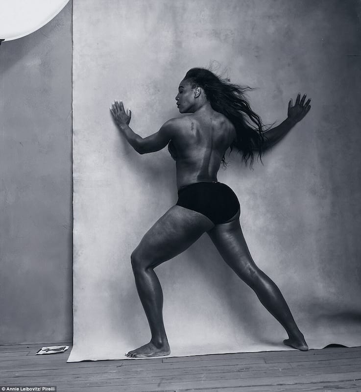 Serena Williams Dons A Thong On Snapchat, Internet Loses Its Shit 14724UNILAD imageoptim Serena Williams Pirelli