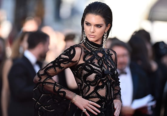 Kendall Jenner Finds Creative Way To Get Around Instagram's Nipple Ban