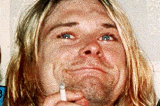 Kurt Cobain of Nirvana and the 27 Club