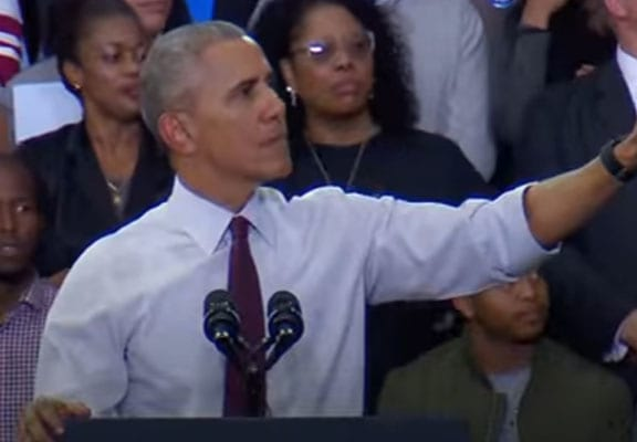 Barack Obama Had The Perfect Response To A Trump Heckler