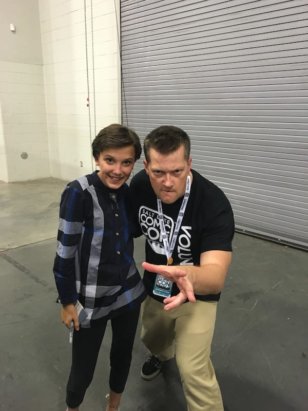 Eleven Went To Comic Con In Disguise And The Pics Are Hilarious 439UNILAD imageoptim Milly bobby brown SLC 1