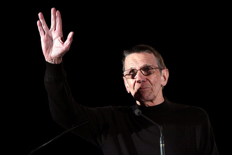 The Haunting Last Tweets Celebrities Sent Before They Died 48205UNILAD imageoptim Leonard Nimoy 5774458356