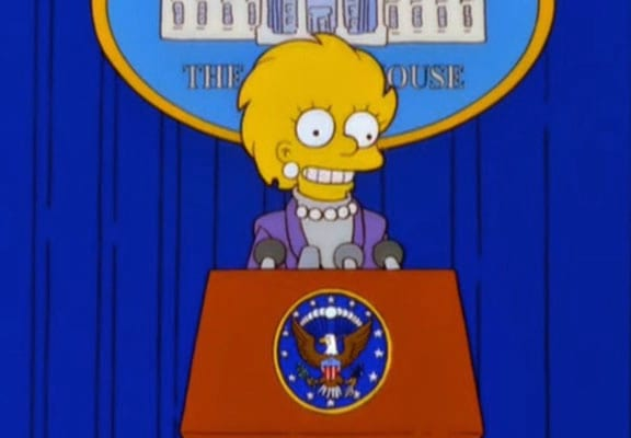 Simpsons Writer Reveals How He Predicted Trumps Presidency 58616UNILAD imageoptim simpsons featured