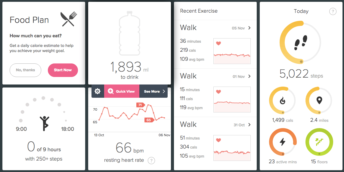 Fitbit Charge 2 Desktop