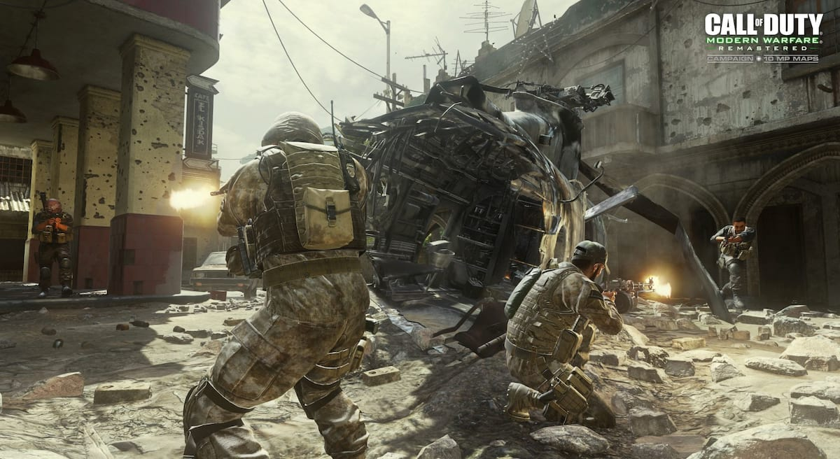 Activision Reportedly Set To Remaster Another Fan Favourite Call Of Duty 9090UNILAD imageoptim call of duty modern warfare remastered mp crash 1