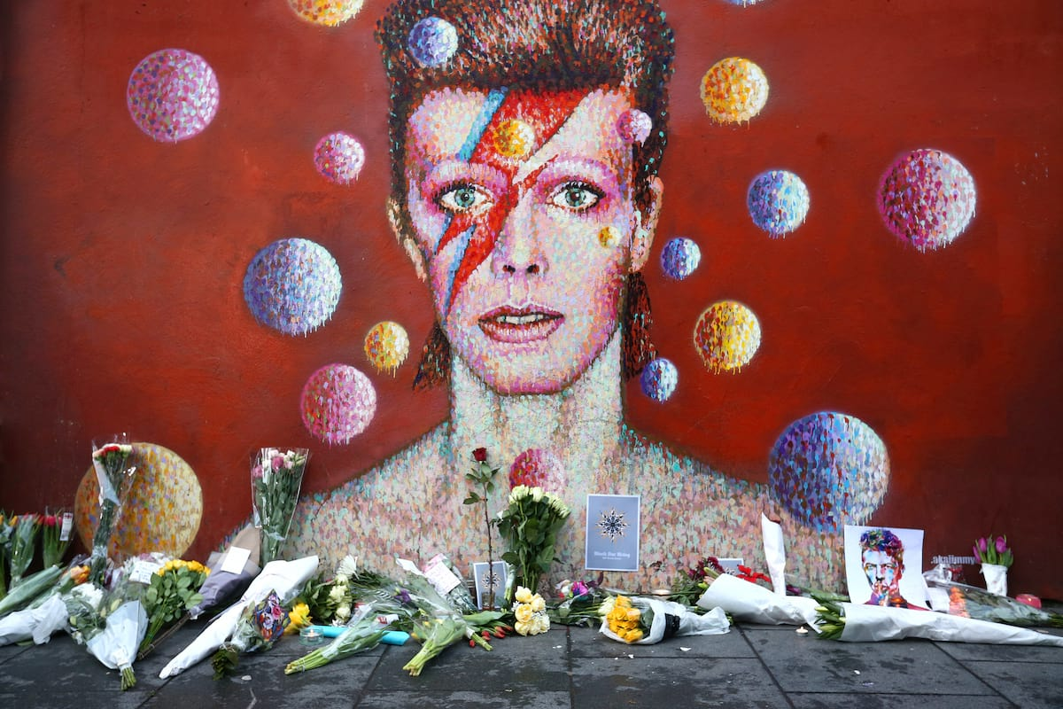 Memorial to David Bowie