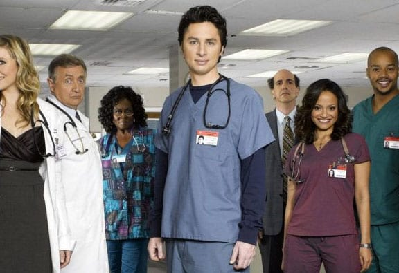 Scrubs Cast Reunite For First Time Since The Show Ended