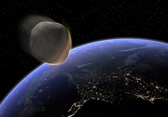 Huge Asteroid To Have 'Near Miss' With Earth Today