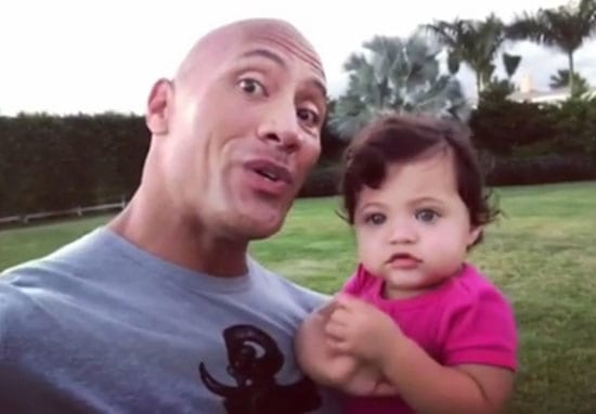 The Rock Posted A Video Singing To His Daughter, Wins Best Dad Award