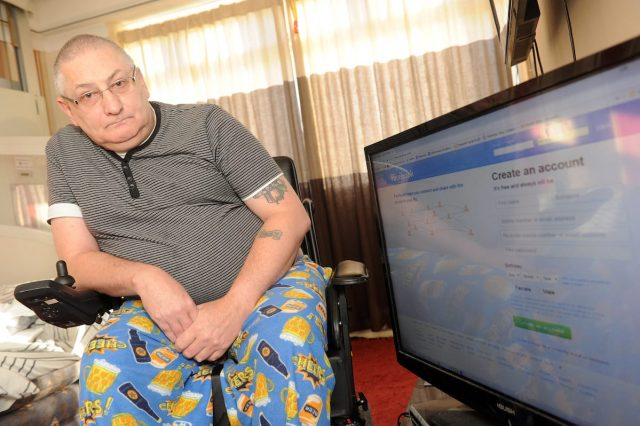 Disabled Man Banned From Facebook Because They Dont Believe His Name Is Real 13910UNILAD imageoptim SWNS FACEBOOK DJ 01 640x426