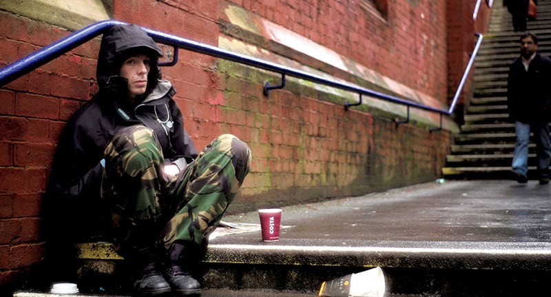 This Is What Its Like To Be Homeless At Christmas 15272UNILAD imageoptim manchester