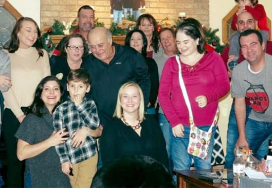 Savage Dog Completely Ruins Family Christmas Photo