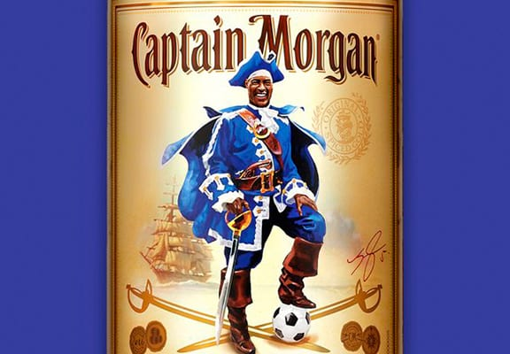 Wes Morgan's Deal With Captain Morgan's Rum Has Some Epic Clauses