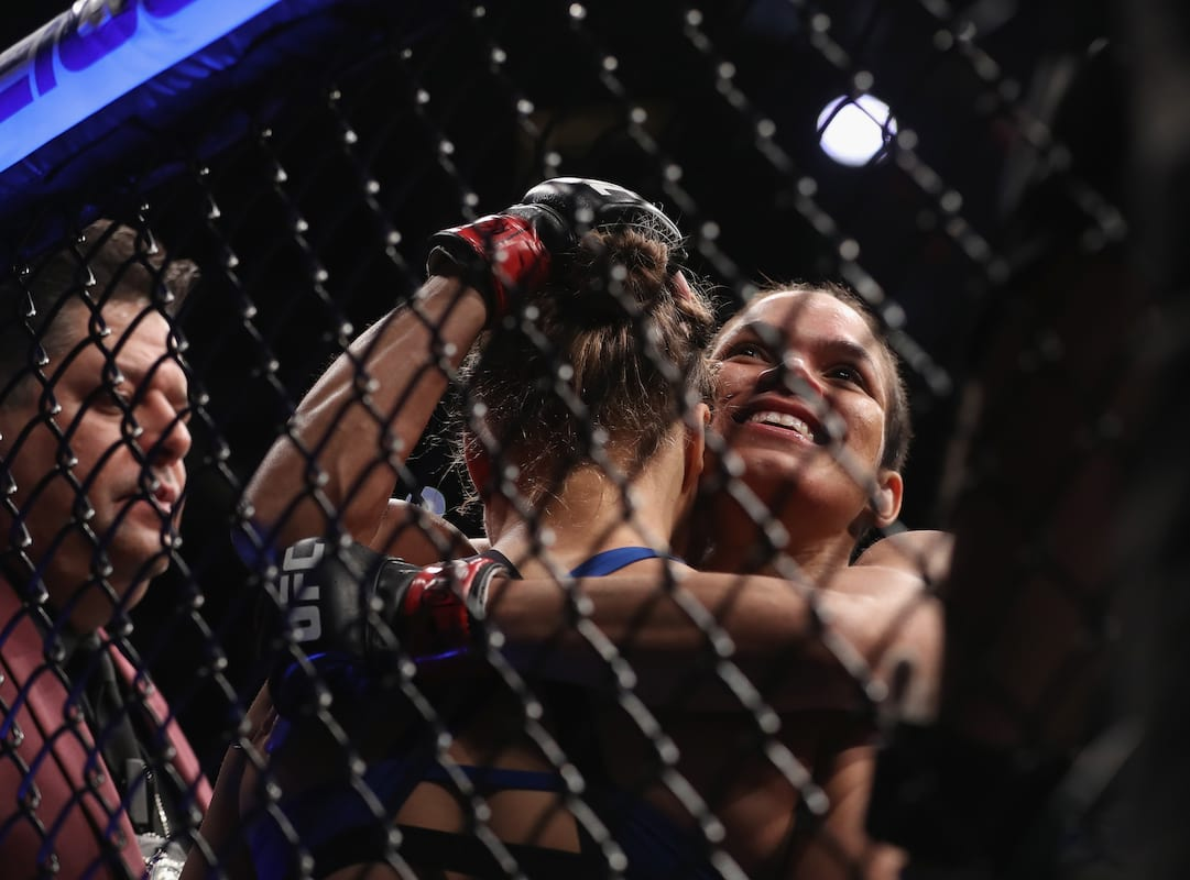 Amanda Nunes Reveals What She Told Ronda Rousey In The Octagon After Fight 3189UNILAD imageoptim nunes