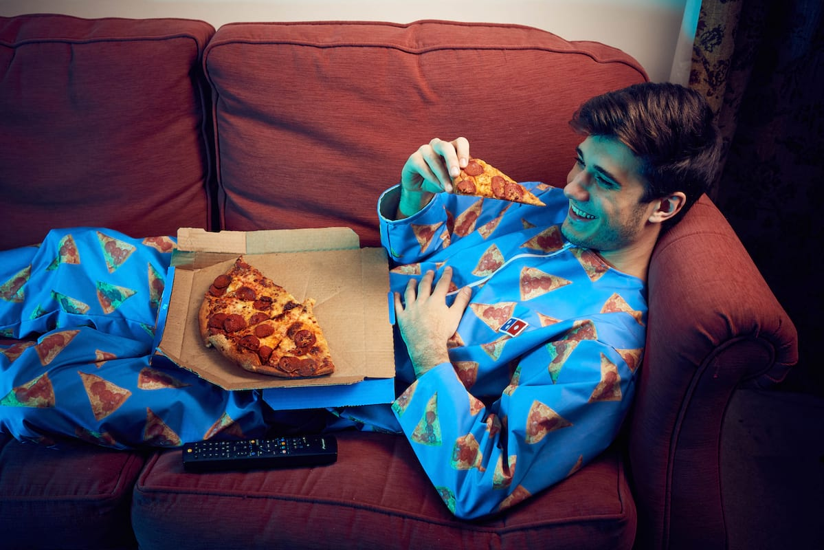 Dominos New Wipeable Onesie Is A Must Have For Pizza Lovers 395UNILAD imageoptim BUCK New Years Wipeable Onesie 0311 1