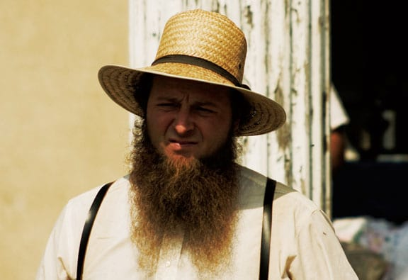 Awesome Heres Why Amish Men Have Beards But Shave Their Moustaches Hairstyles For Women Draintrainus