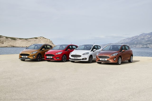 Ford Unveils The Next Generation Ford Fiesta FORD FIESTA2016 RANGE 01 640x426