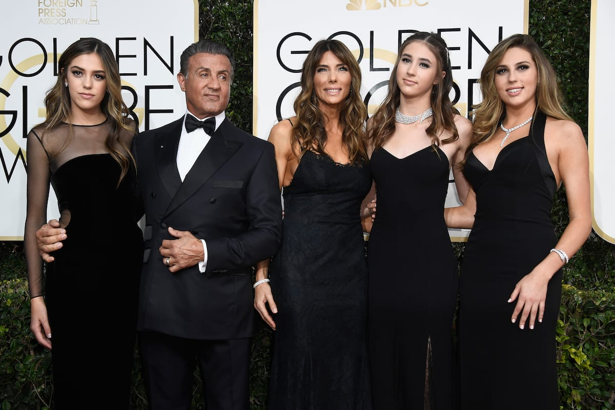 Sylvester Stallone's Daughters Were The Butt Of An Awkward Anal Joke 18838UNILAD imageoptim GettyImages 631253852