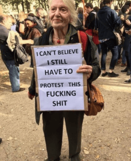 These Are All The Funniest Signs From The Womens March - 23 hilarious signs from people who know how to protest properly