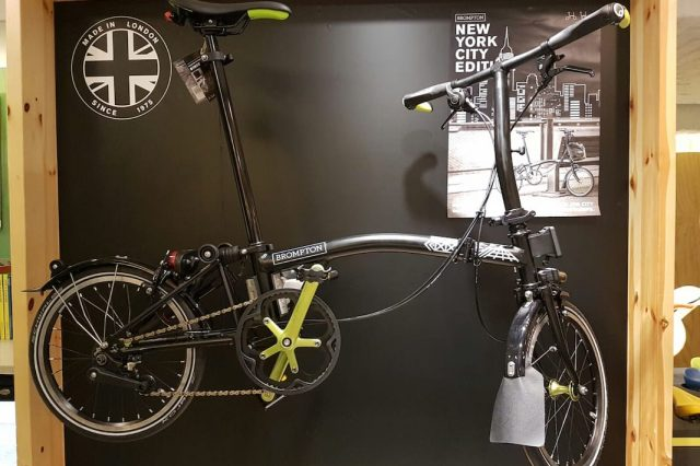 Brompton New York Edition Bike Is Perfect For Commuters %name