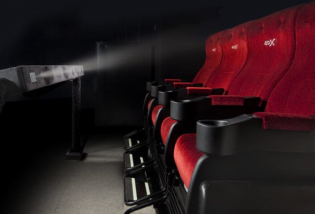 4DX Cineworld Experience