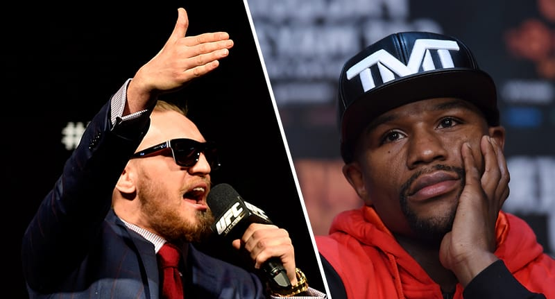 Floyd Mayweather Responds To Rumours Hes Signed A Deal To Fight Conor McGregor 36627UNILAD imageoptim mcgregor mayweather fb
