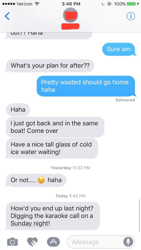 These Drunk Booty Call Texts Are Awkwardly Hilarious
