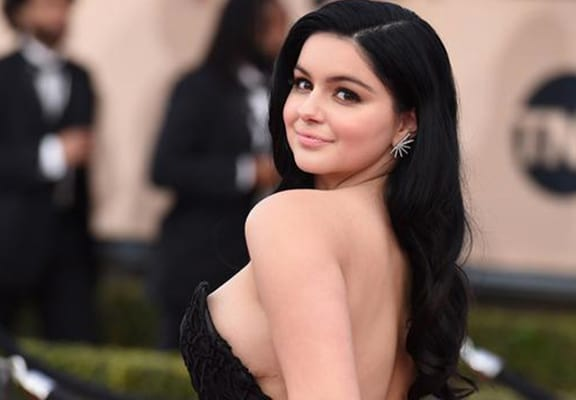 Alleged ariel winter topless limbo vid 7