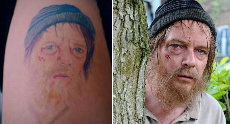 Girl Gets Ian Beale Tattoo Fixed With Hilarious Results 51697UNILAD imageoptim ianbealetat 1