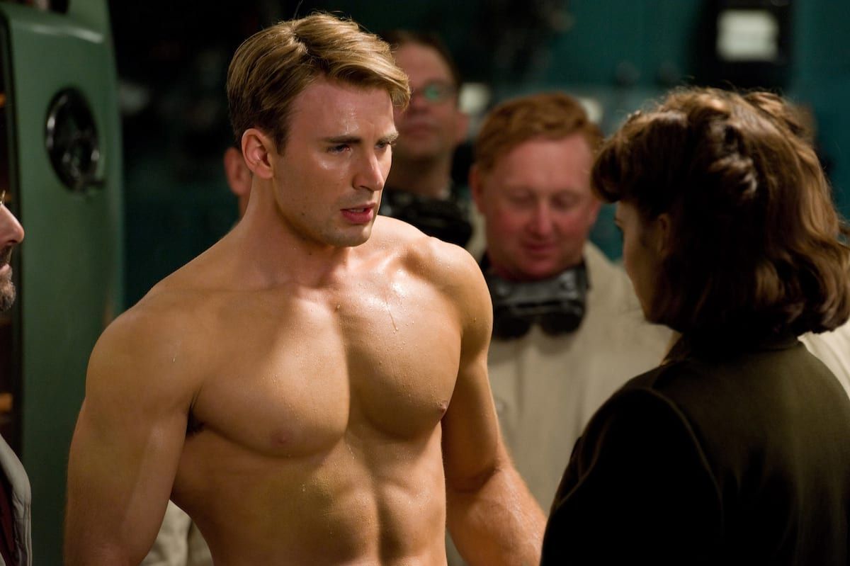 chris evans captain america first avenger