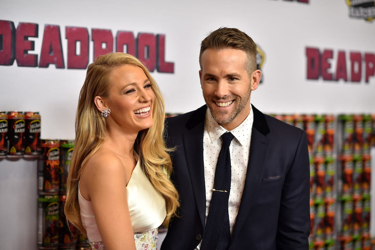 Actor Blake Lively with husband Actor Ryan Reynolds