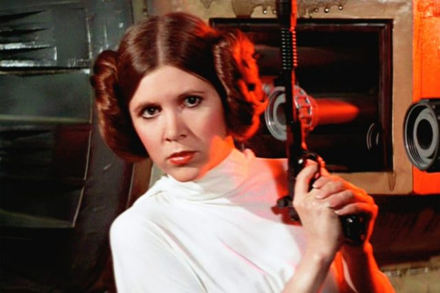 Mark Hamill Pays Heartwarming Tribute To Carrie Fisher On Anniversary Of Her Death 9810UNILAD imageoptim Princess Leia 1 640x426
