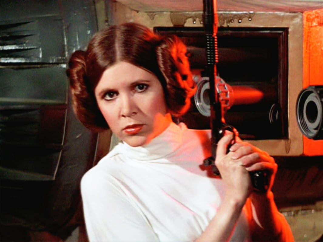 LucasFilm Confirm They Will Not Use CGI To Resurrect Carrie Fisher 9810UNILAD imageoptim Princess Leia 1