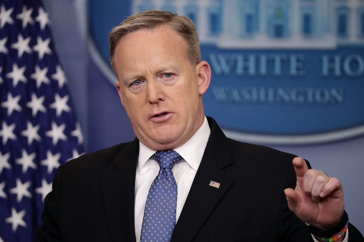 This Is The Big Problem With President Trumps Approach To The Media 1121 spicer