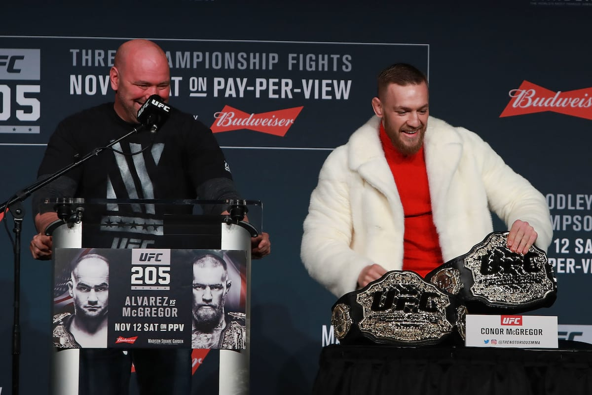 Dana White Reveals Who Conor McGregor Will Fight Next 1239 GettyImages 622164798
