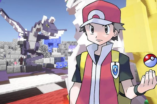 Check Out This Entire Pokemon Game Built In Minecraft